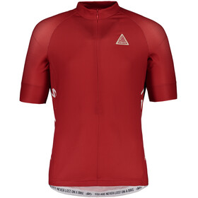 Maloja PlansM. Bike Jersey Longsleeve Men red